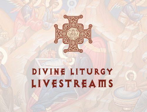 DIVINE LITURGY LIVESTREAMS – MARCH 29TH, 2020